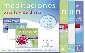 cd de meditación