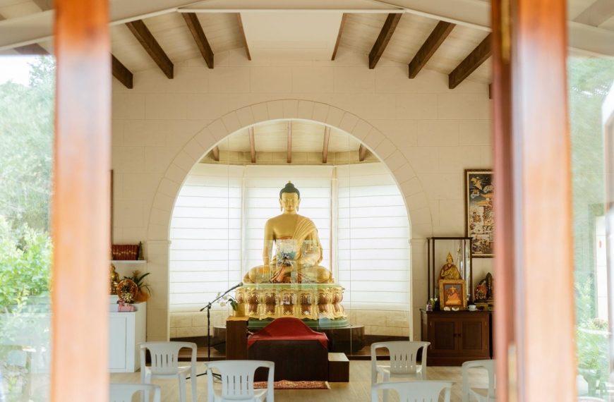 Medita en el Templo para la paz